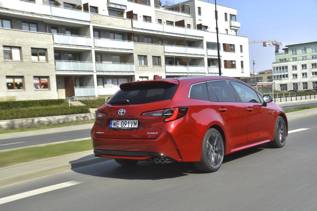 Toyota Corolla - tył