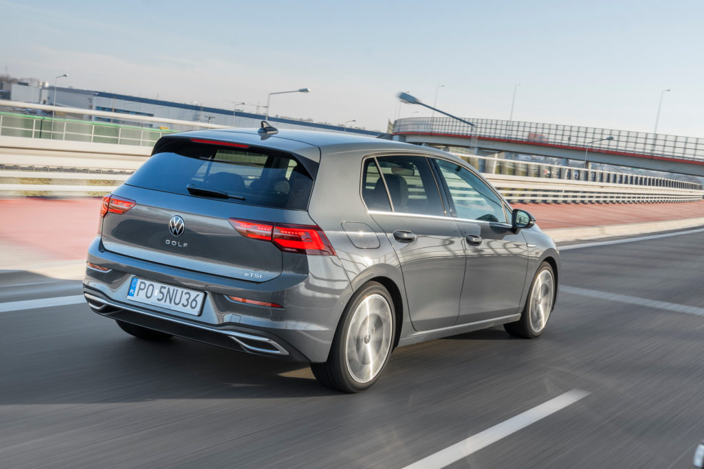 VW Golf - tył